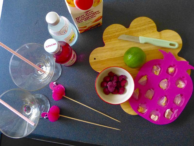 recette pétales de rose