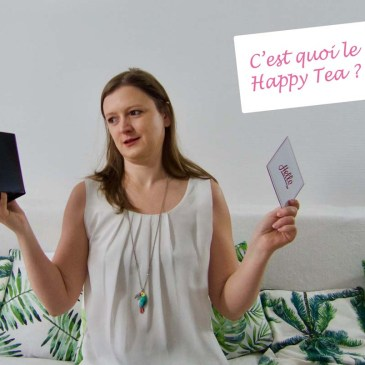 (SWAP) Happy Tea Janvier