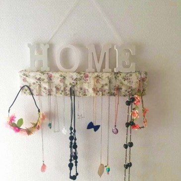 {Upcycling} Porte bijoux