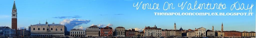 Venice, the City of Romance, on Valentine's Day