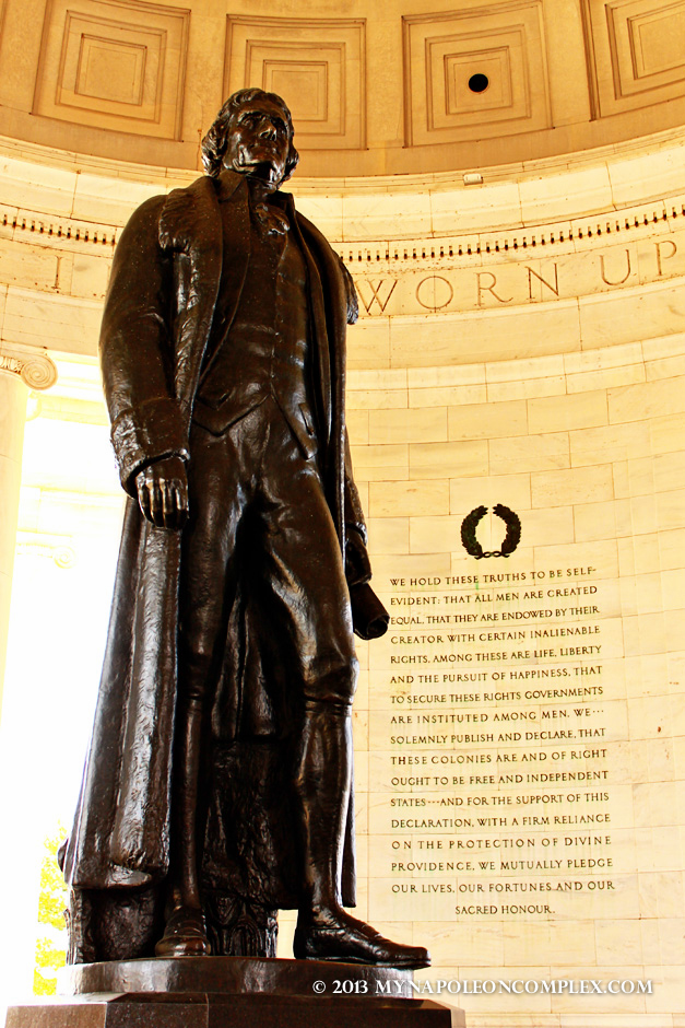 Thomas Jefferson statue in Jefferson Memorial, Washington D.C.