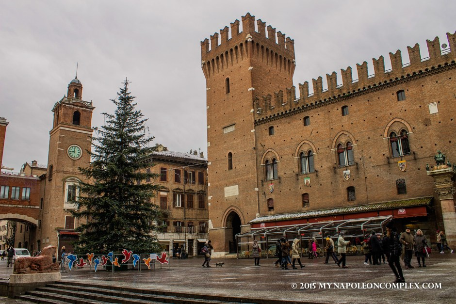 Picture of Castello Estense, Ferrara.
