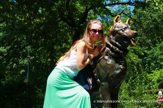 Picture of Balto, Central Park, NYC