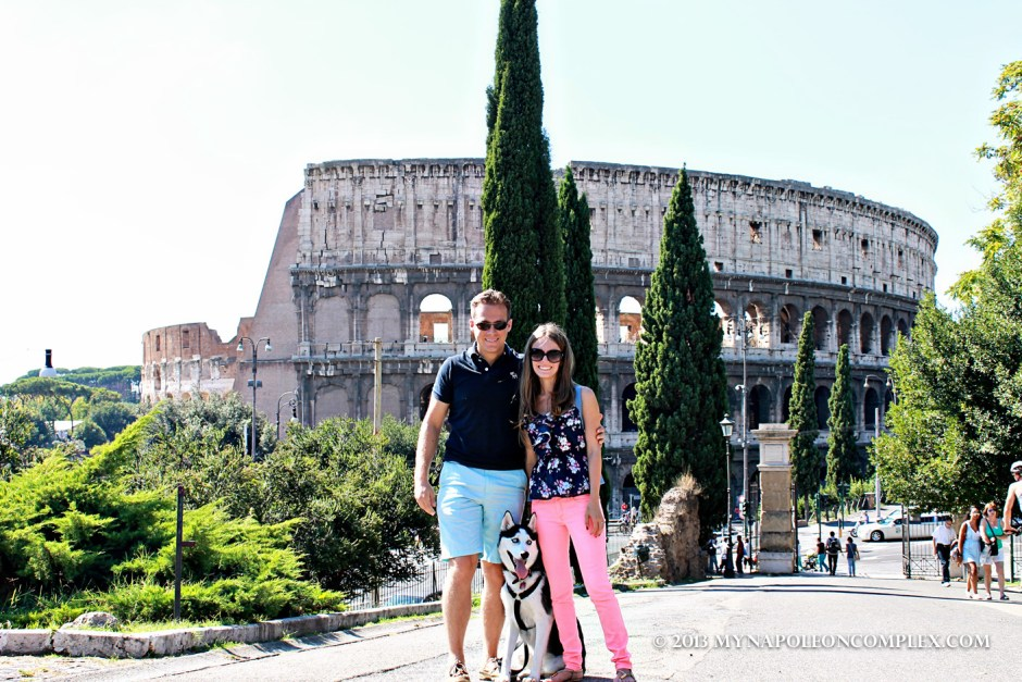 Picture of Colosseum from Parco del Colle Oppio