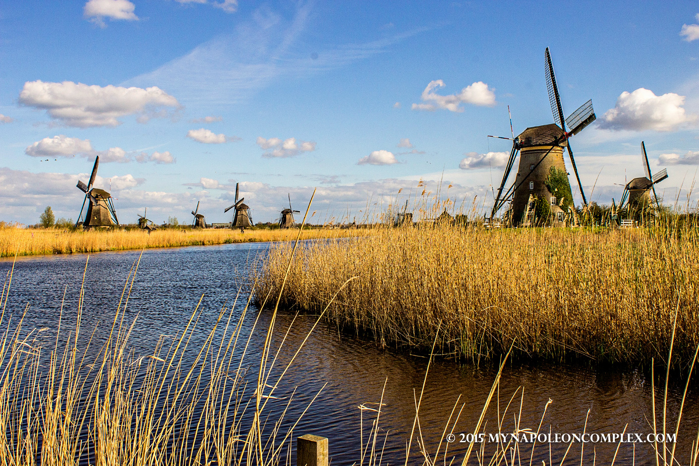 Picture of Kinderdijk windmills, the Netherlands
