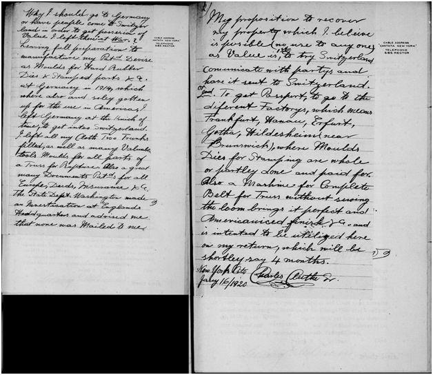Cluthe Passport Document #2