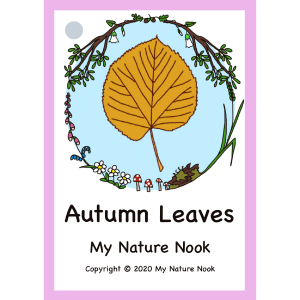 autumn leaves flash cards