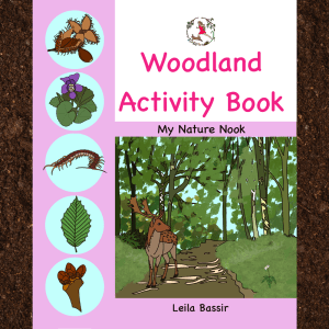 woodland activity book