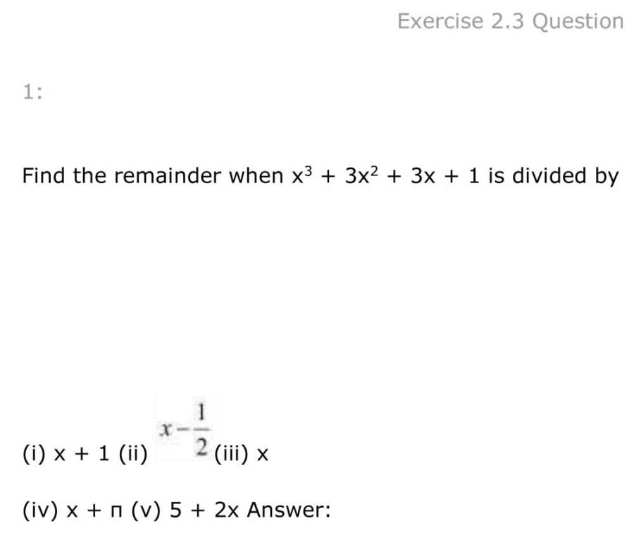 ncert solutions for class 9 maths chapter 2 polynomial 11