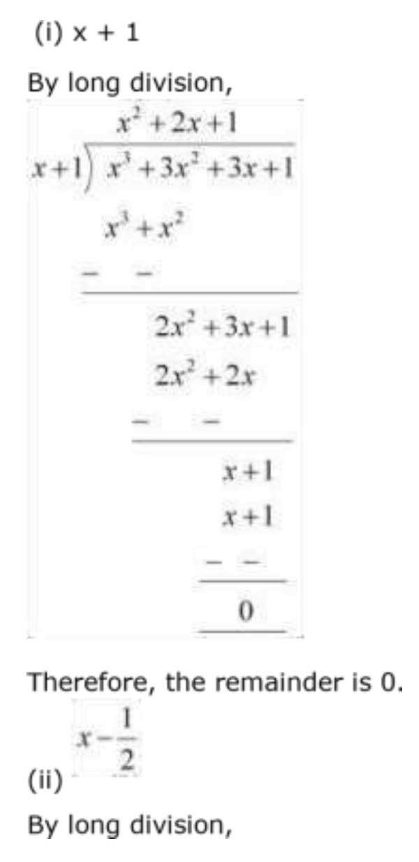 ncert solutions for class 9 maths chapter 2 polynomial 12