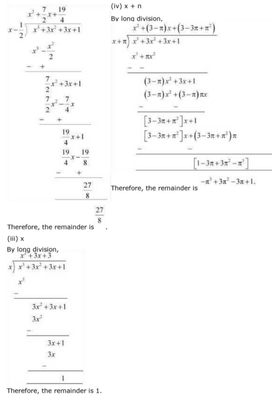 ncert solutions for class 9 maths chapter 2 polynomial 13