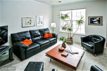 Occupied Living Room Staging