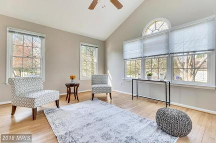 Picture of sunroom staging