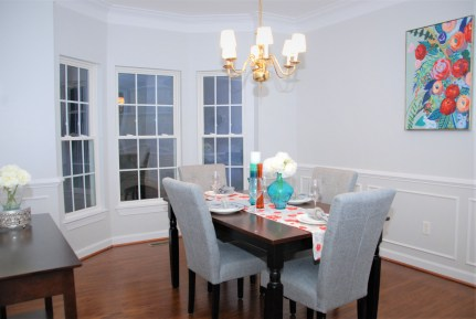 Picture of Vacant formal dining room staging