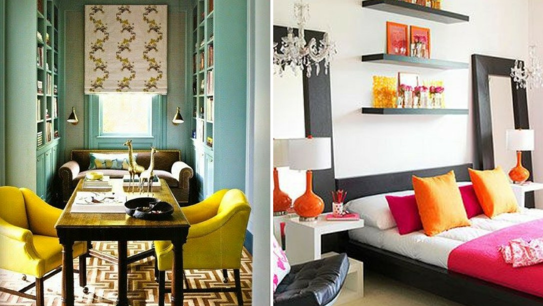 Pictures of analogous interior decor