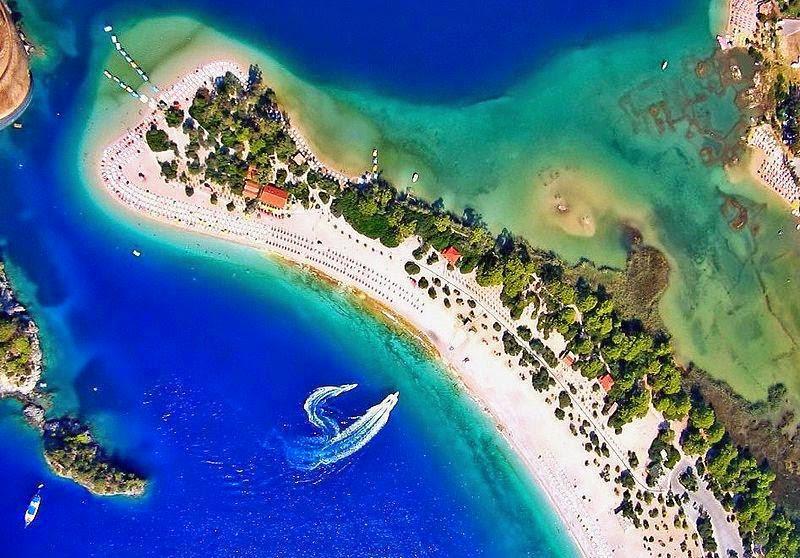 Ölüdeniz Lagoon, Fethiye, Türkiye