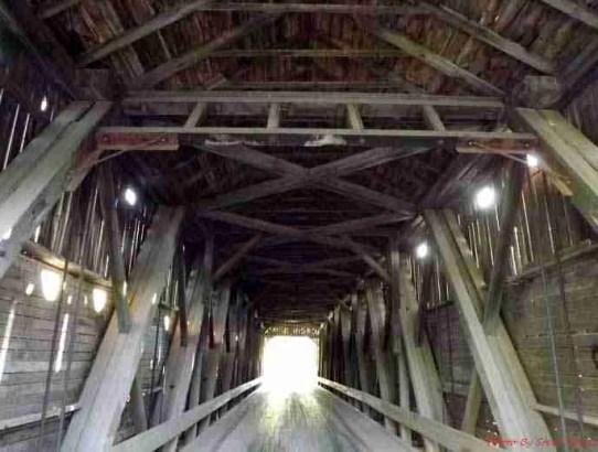 Smyth Covered Bridge in Hoyt, NB.