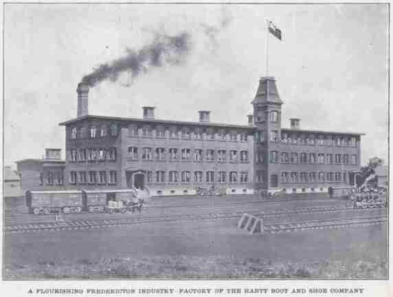 Factory of the Hartt Boot and Shoe Company 1907
