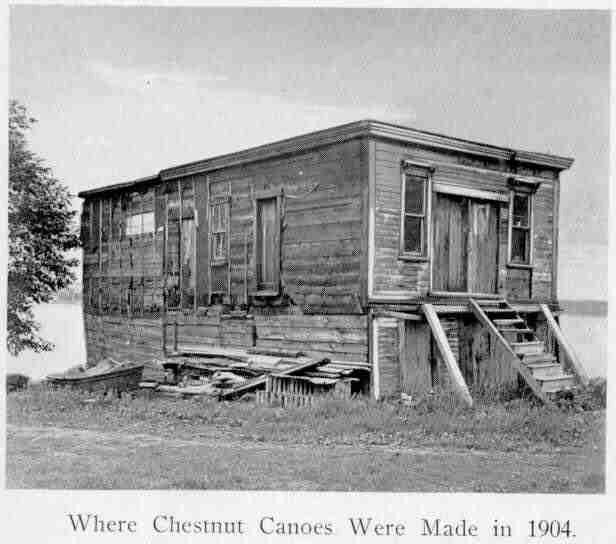 chestnut canoe 1904