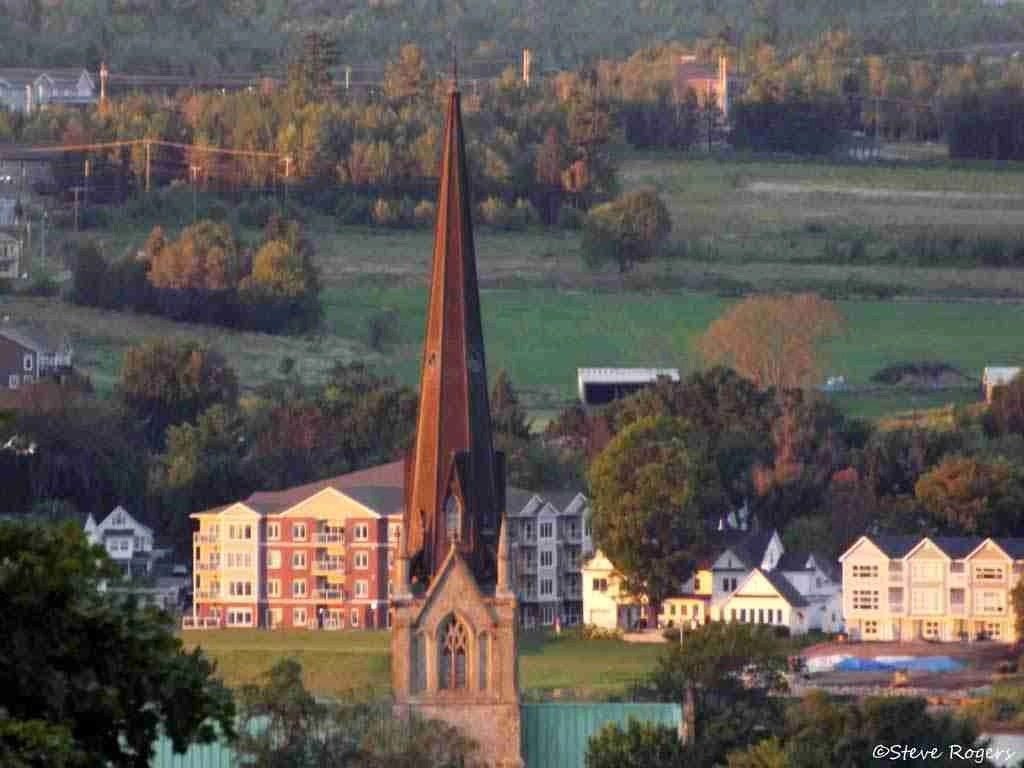 Fredericton at Sunset