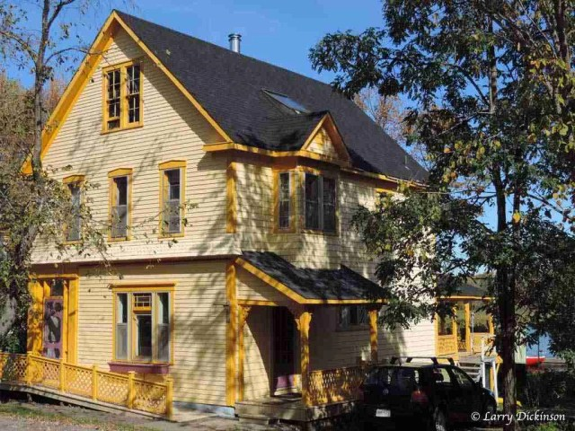 house yellow front