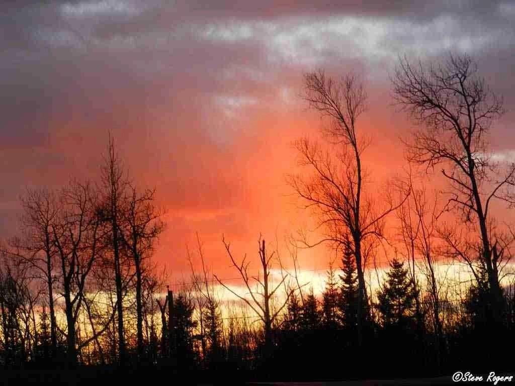Sunset November 23, 2013