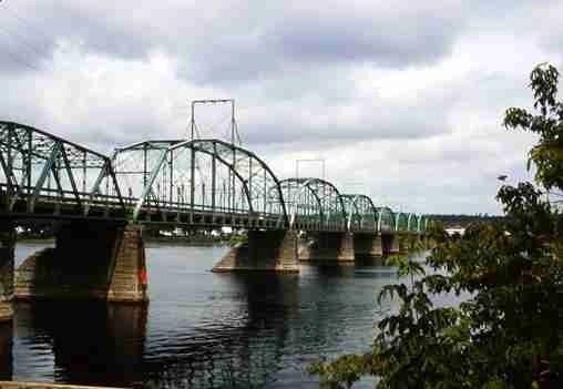 Fredericton's First Bridge