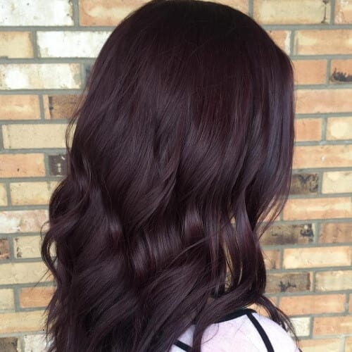 Burgundy Brown Hair Color