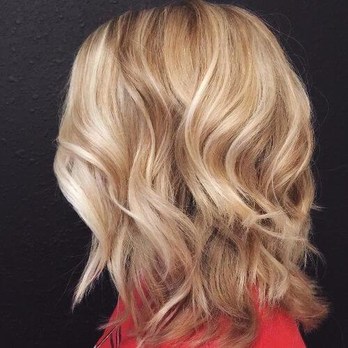choppy lob cut hairstyles for thin hair
