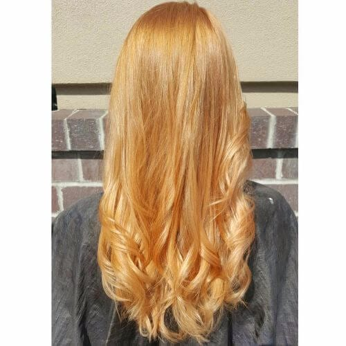 Natural Strawberry Blonde Hair