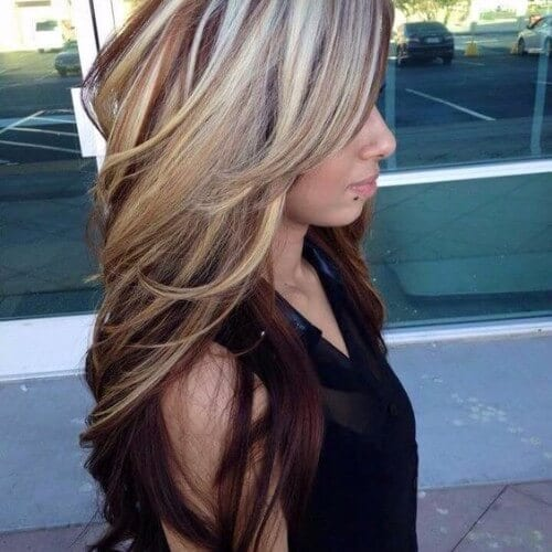 30 burgundy hair ideas for blonde red and brunette hair blonde burgundy balayage pmusecretfo Choice Image