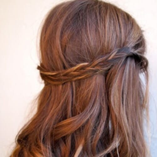 Ribbon Highlights and Tiara Braid