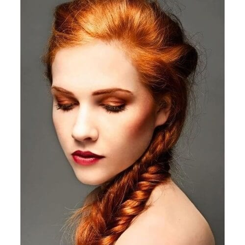 60 shades of red hair that look great on everyone orange hair color shades of red hair urmus Images