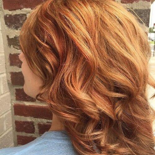 Subtle Copper Red Hair