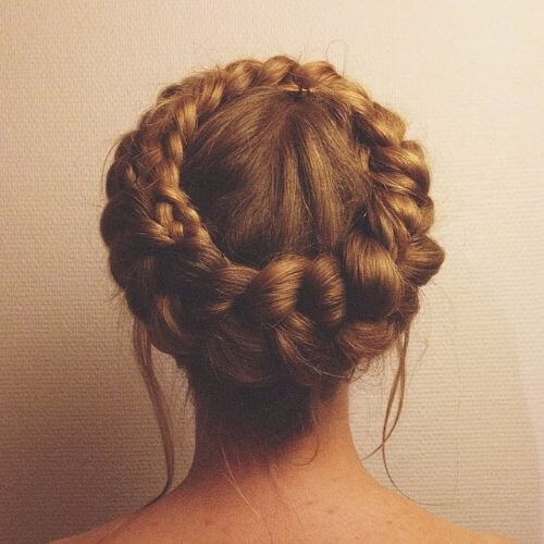 dutch braids crown braided updos