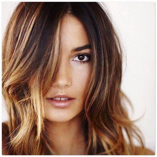 100 caramel highlights ideas for all hair colors caramel highlights on layered brown hair solutioingenieria Choice Image