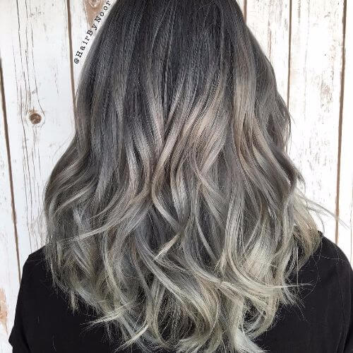 45 blonde highlights ideas for all hair types and colors blonde balayage on medium length dark hair pmusecretfo Image collections
