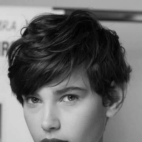stacked pixie cut short layered hairstyles
