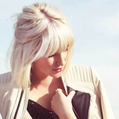 Casual Hairstyles for Bobs with Bangs