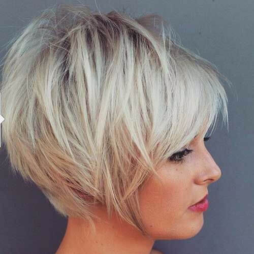 attractive pixie cut