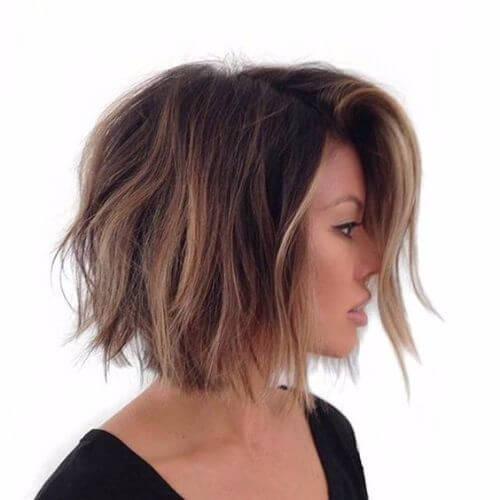 balayage bob haircut
