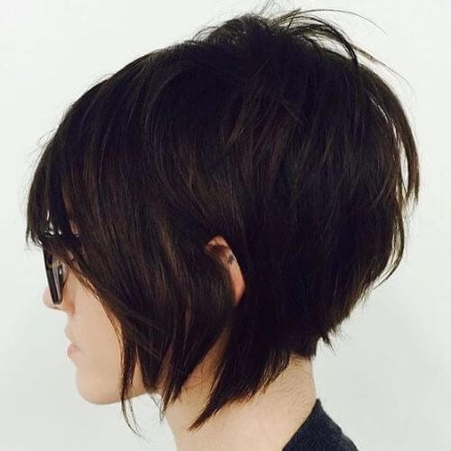 short textured pixie cut