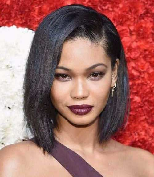 chanel iman choppy bob short hairstyles for black women
