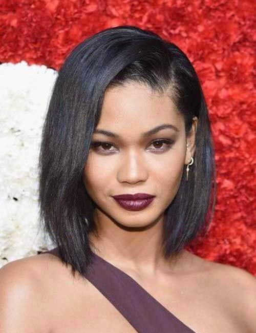 chanel iman choppy bob short hairstyles for black women