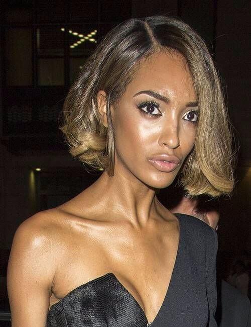 extreme elegance short hairstyles for black women