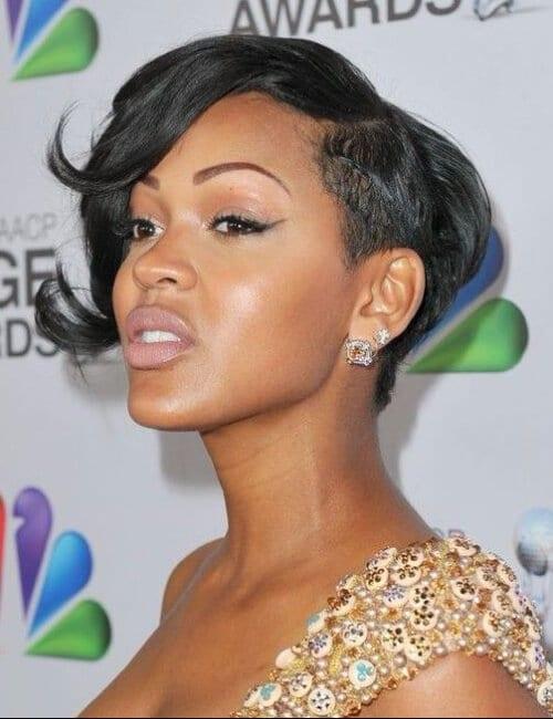 meagan good short hairstyles for black women