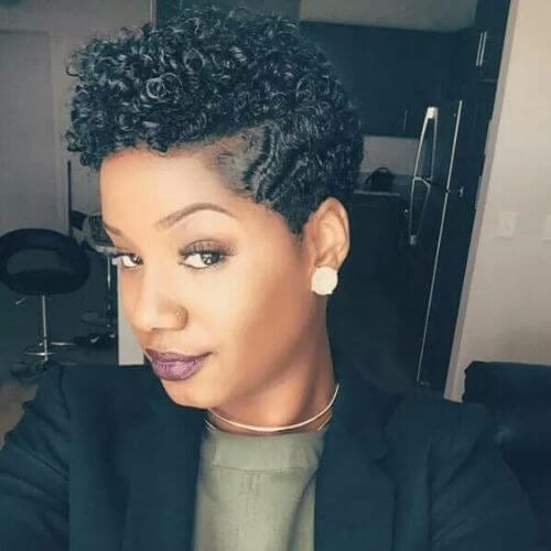 natural hairstyles for short hair with braids