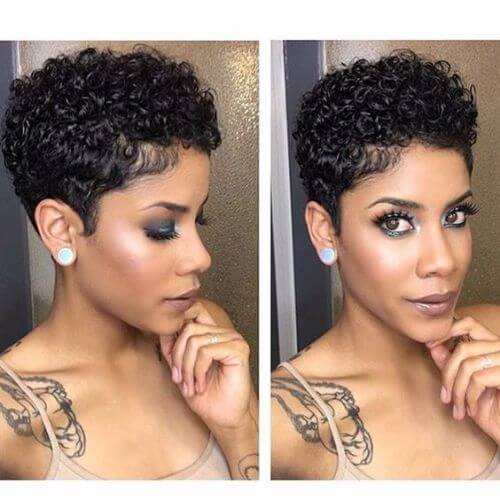 short natural hairtyles