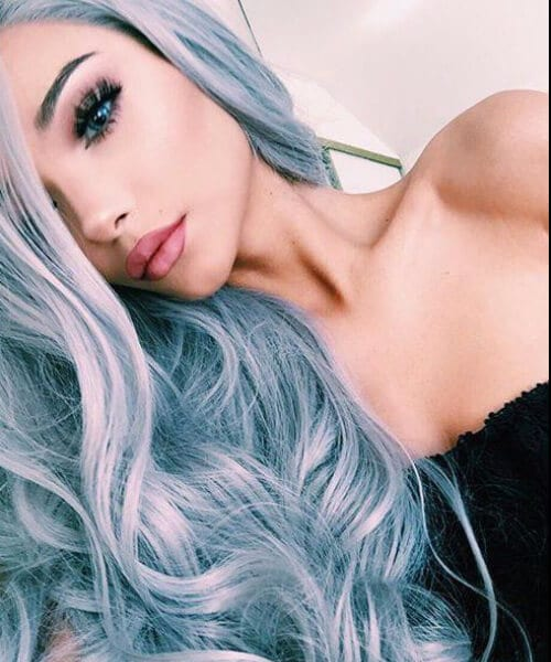 elegant mermaid hair
