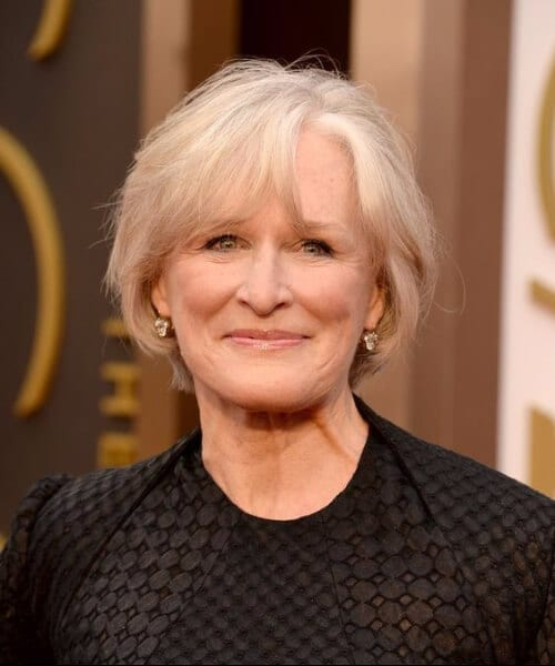 glenn close hairstyles for women over 50
